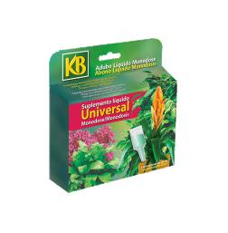 Plantas de interior e terraços - Suplemento_Universal_Monodose_5_x_30ml_KB